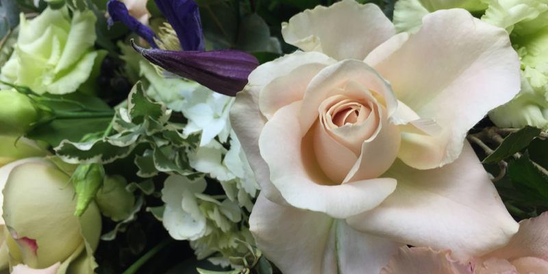 Flower arrangements for a funeral or coffin - sprays, wreaths