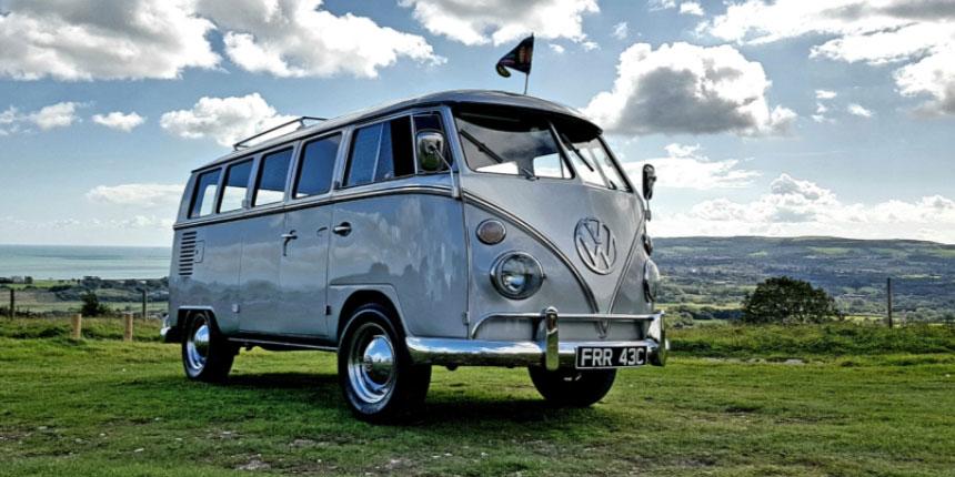Alternative hearse transportation - VW Camper Van