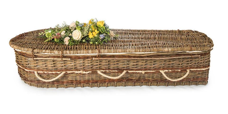 Green Willow Coffin