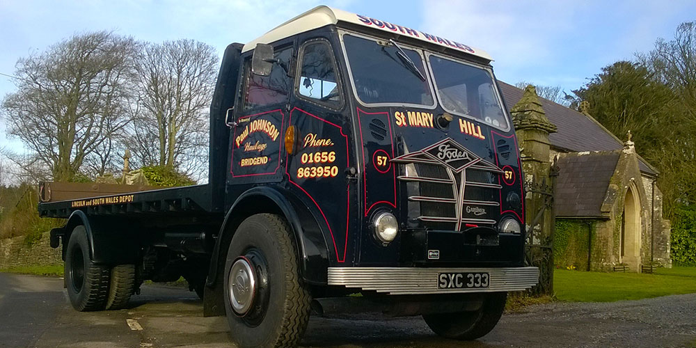 classic foden lorry