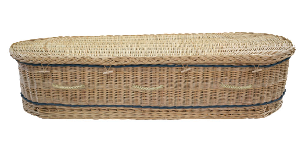 Somerset Willow Curved coffin