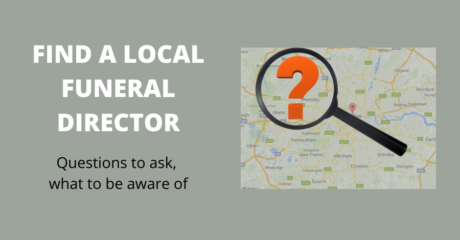 find a funeral director kingston richmond upon thames