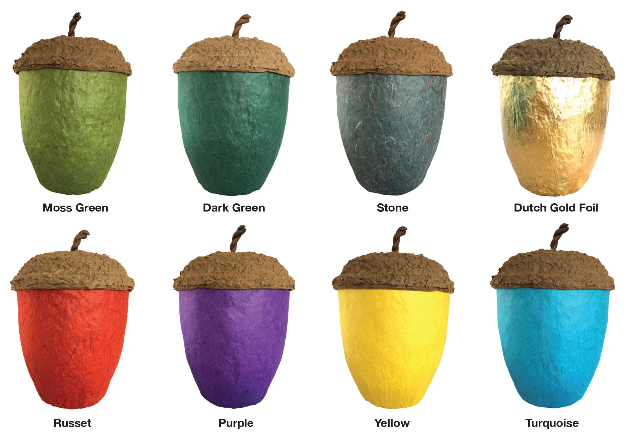 Acorn urns