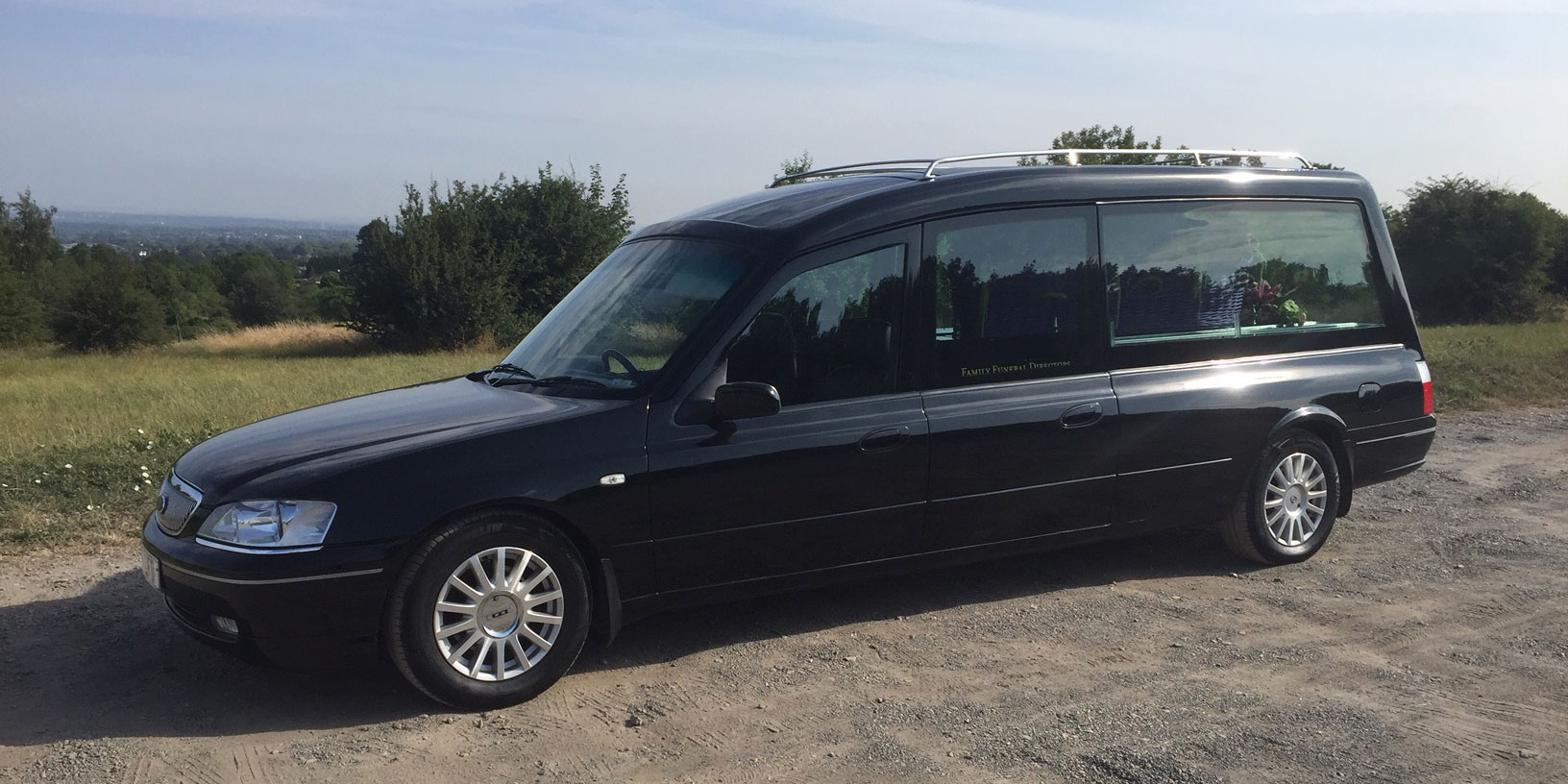 Black Funeral Hearse